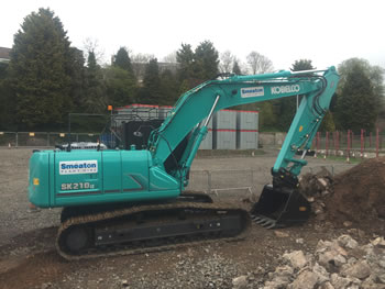 Services at Smeaton Plant Hire - Kobelcos